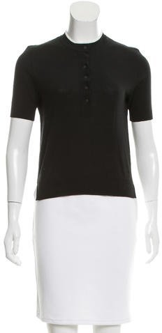 Alexander Wang T by Alexander Wang Knit Crew Neck Top