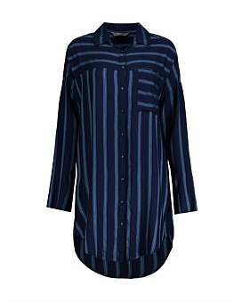 Studio.W Striped Nightshirt