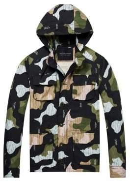 Scotch & Soda Four-Pocket Military Jacket