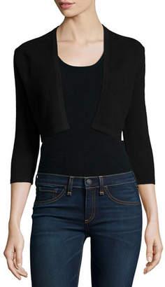 Neiman Marcus Cashmere Collection Modern Cashmere Shrug $195 thestylecure.com