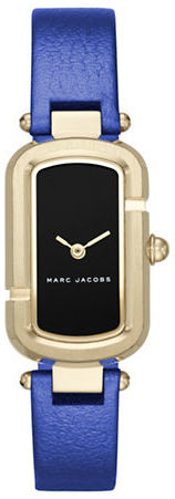 Marc Jacobs Marc Jacobs Goldtone Stainless Steel and Metallic Leather Two-Hand Analog Watch