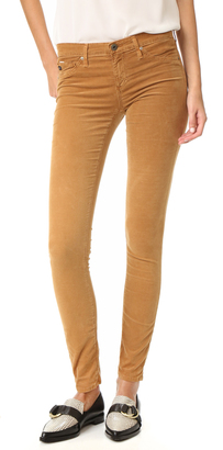 AG The Super Skinny Legging Jeans $188 thestylecure.com