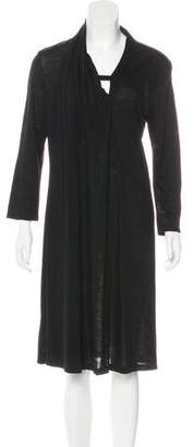 Hussein Chalayan Wool Knee-Length Dress
