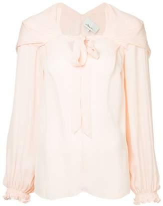 3.1 Phillip Lim front tie blouse