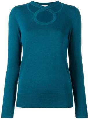 MICHAEL Michael Kors cross neck knitted sweatshirt