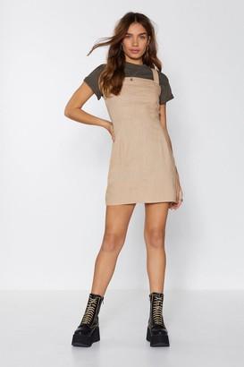 Nasty Gal Such a Square Mini Dress
