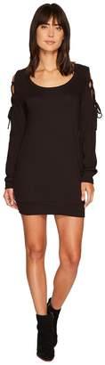 Lanston Tie Shoulder Mini Dress Women's Dress
