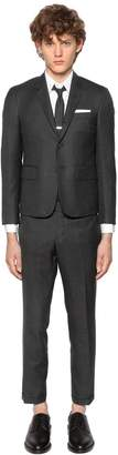 Thom Browne Skinny Fit Light Wool Gabardine Suit