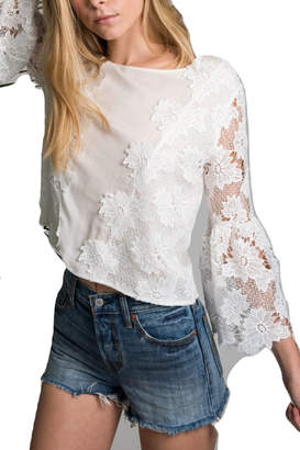 Allison Collection Flare Sleeve Top