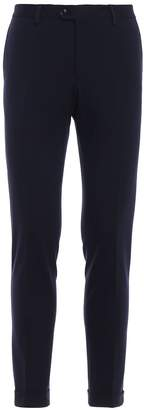 Fay Comfy Viscose Blend Slim Fit Trousers