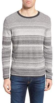 Billy Reid Contrast Trim Stripe Sweater