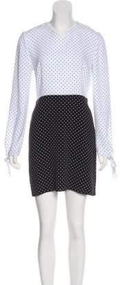 J.W.Anderson Polka Dot Mini Dress
