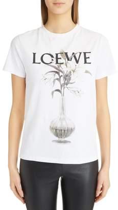 Loewe Flower Vase Logo Tee