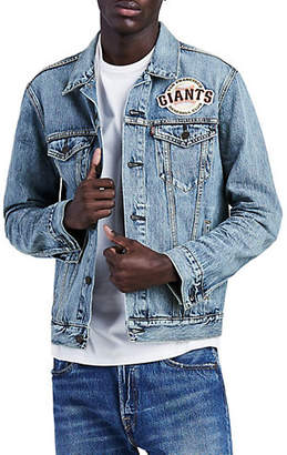 Levi's MLB SF Giants Denim Trucker Jacket
