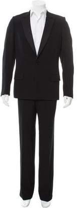 Christian Dior Silk-Trimmed Wool Tuxedo