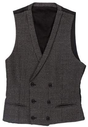 The Kooples Double-Breasted Vest