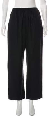 eskandar Mid-Rise Wide-Leg Pants