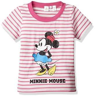 Disney (ディズニー) - (ディズニー) Disney(ディズニー) ミニープリントTシャツ 100347 71 ピンク 95
