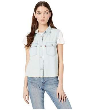 Levi's Womens Sleeveless Maddie Shirt