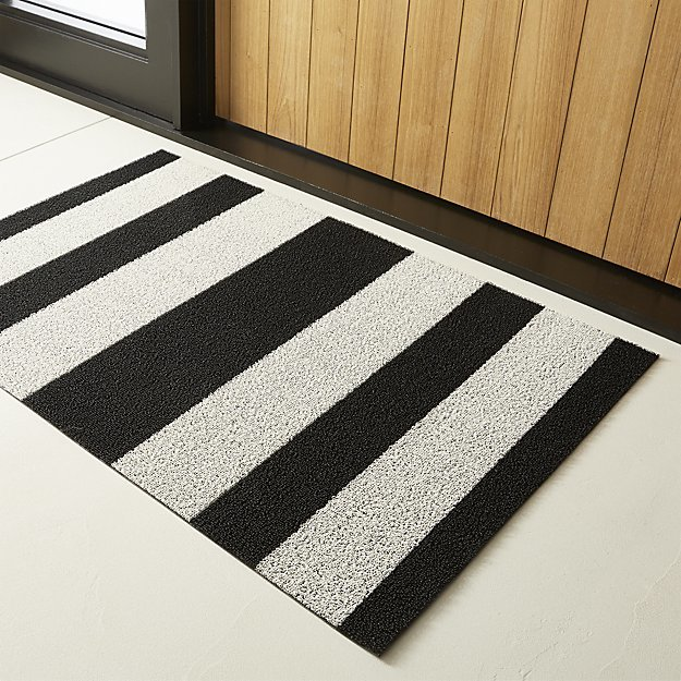 CB2Chilewich ® Black And White Utility Mat