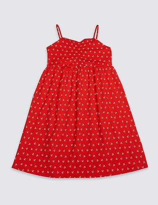 Marks and Spencer Anchor Print Dress (3-16 Years)