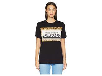 Belstaff Perrins Leopard Graphic Jersey Tee