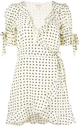 For Love & Lemons Sweetheart wrap mini dress