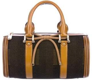Burberry Small Mixed Media Barrel Bag