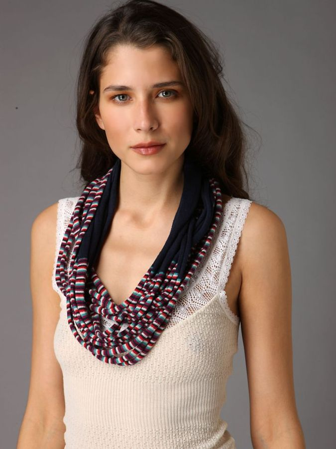 Shredded Mobius Scarf