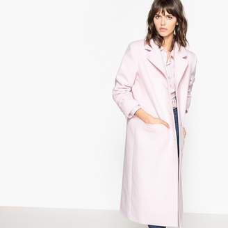 La Redoute Collections Long Wool Blend Coat