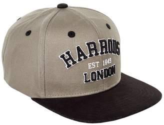 Harrods Varsity Logo Flat Peak Cap