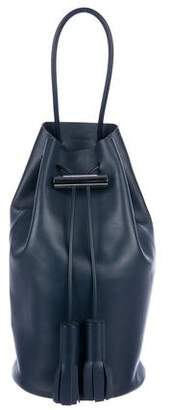 Building Block Pack Leather Backpack