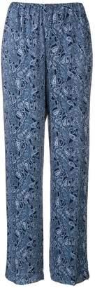 MICHAEL Michael Kors paisley print trousers
