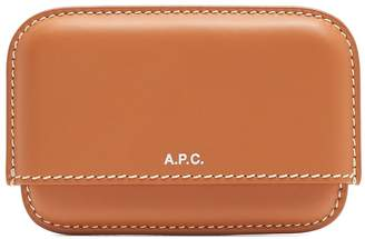 A.P.C. Carta leather cardholder