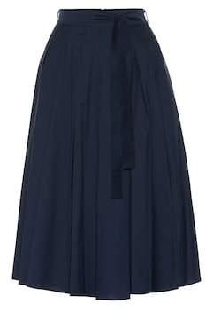 Max Mara S Nazario cotton-blend skirt