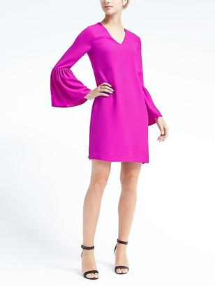 Bell-Sleeve Dress $118 thestylecure.com
