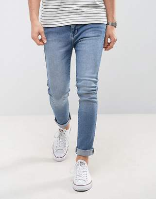 Dr. Denim Leon Slim Light Stone Wash Jean