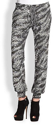 Haute Hippie Liberace Sequin Pants
