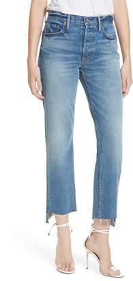 GRLFRND Helena Step Hem Straight Jeans