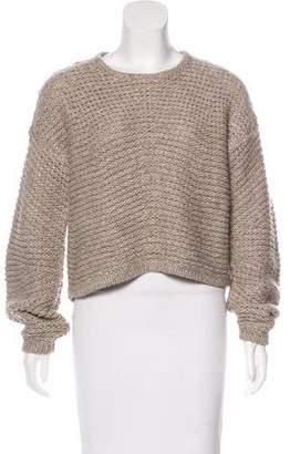 Helmut Lang Wool Heavy Knit Sweater