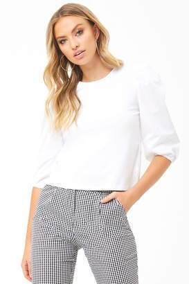 Forever 21 Puff-Sleeve Top