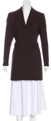 Bill Blass Peak-Lapel Short Coat