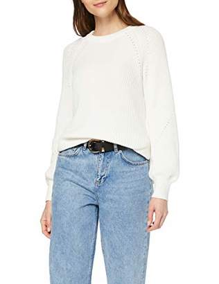 7febe62587afc1 Gant Women's O2. Comfy Ribbed Crew Jumper,(Size: X-Large)