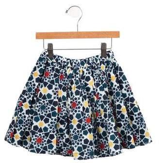 Tia Cibani Girls' Printed Flared Skirt w/ Tags