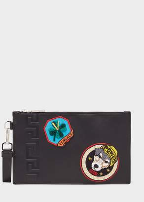 Versace Audrey Patch Small Pouch