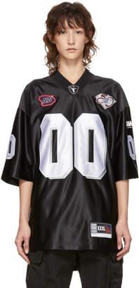 Alexander Wang Black Football Jersey Player ID T-Shirt