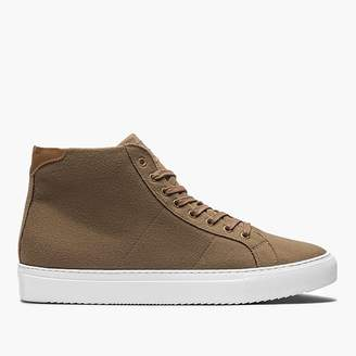 J.Crew GREATS® Royale high-top sneakers in camel wool