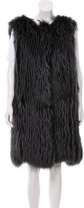 Oscar de la Renta Structured Fur Vest w/ Tags
