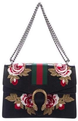 8ea211528c03 Gucci Medium Embroidered Dionysus Shoulder Bag