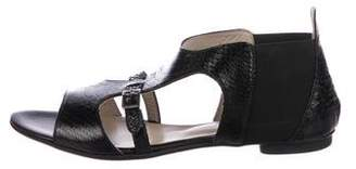 AGL Embossed Cage Sandals w/ Tags